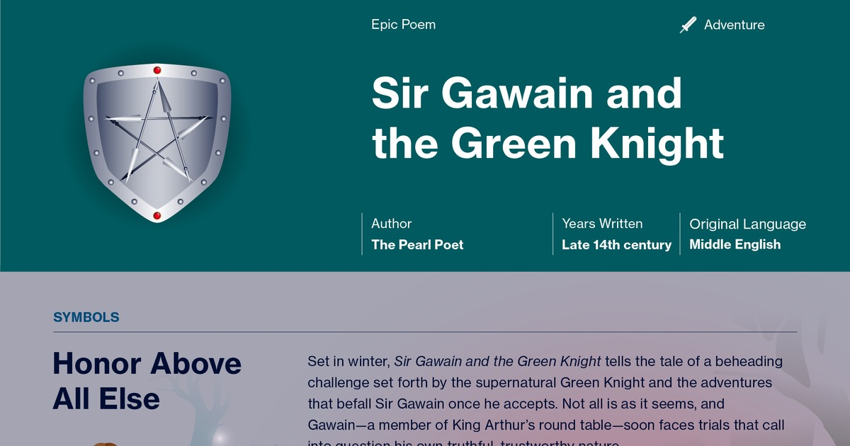sir gawain and the green knight documents course hero
