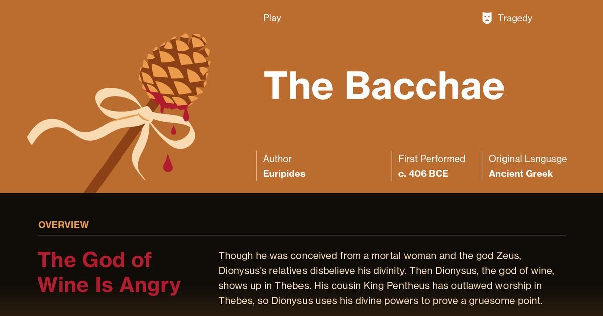 the bacchae analysis