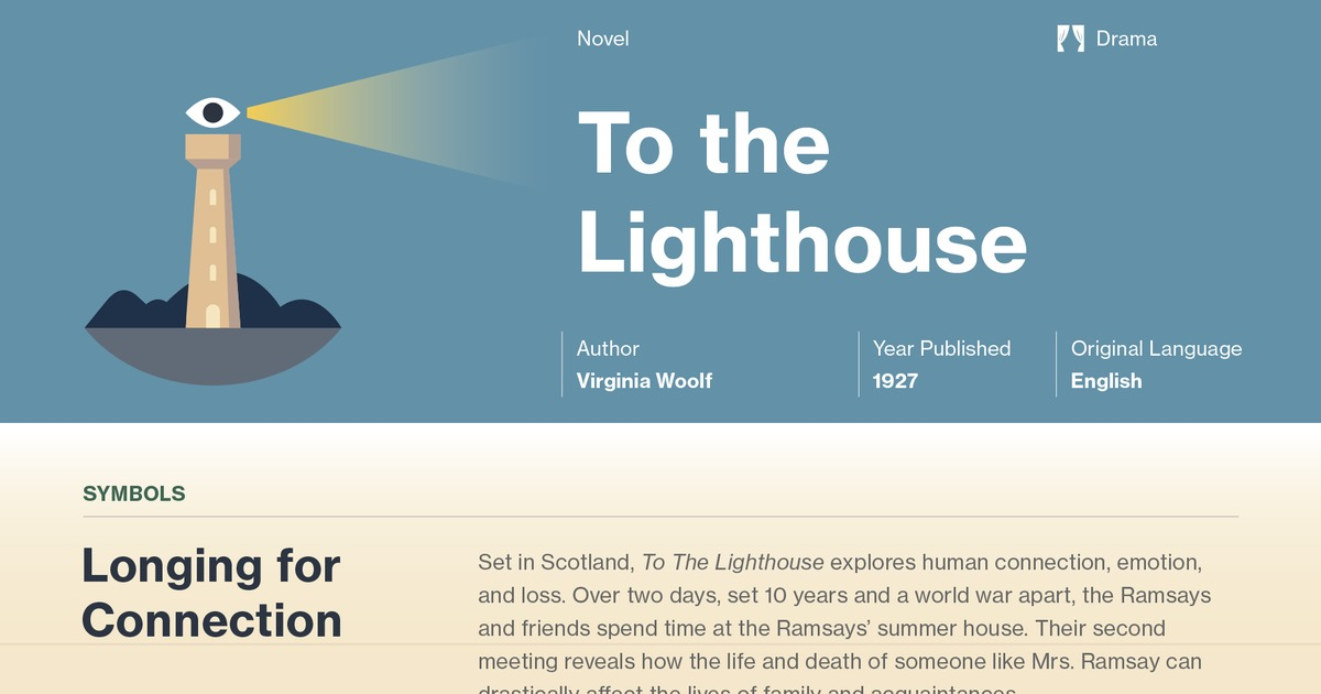 To The Lighthouse Study Guide Course Hero