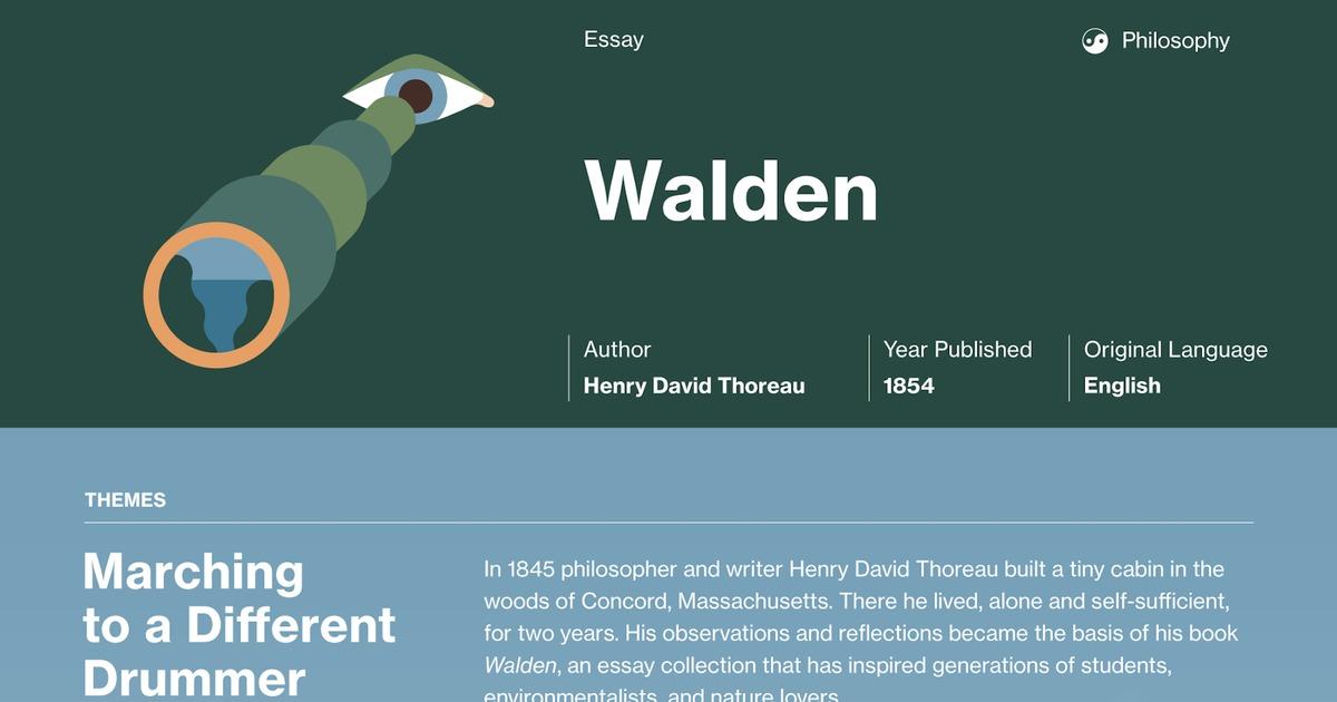 walden two essays