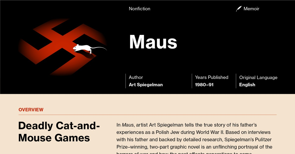 textual analysiscritique of maus ii Find helpful customer reviews and review ratings for maus ii  text, image, video there was a think my best efforts at providing an analysis here.