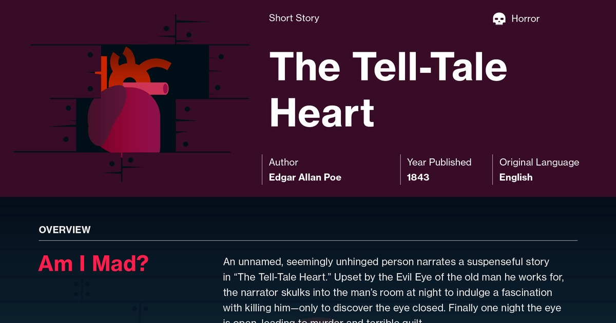 tell tale heart eye