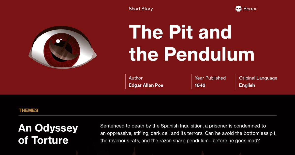 the pit and the pendulum story