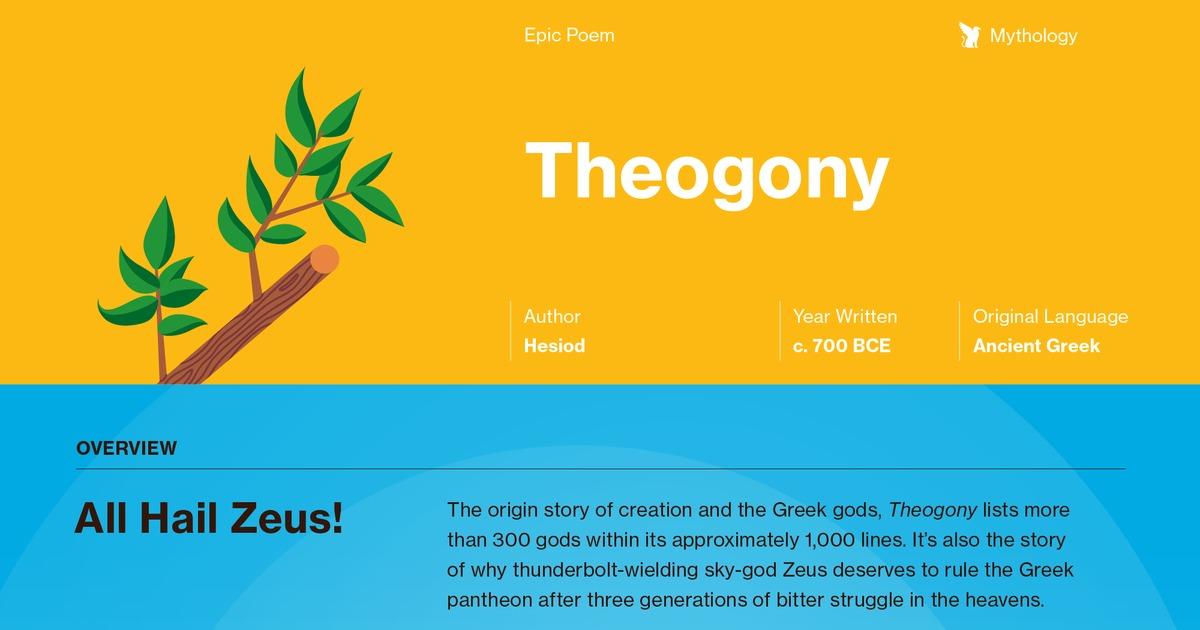 theogony quotes course hero