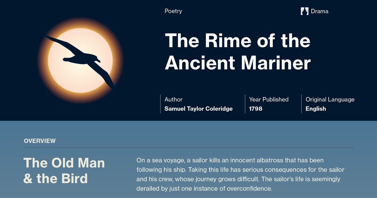 The Rime Of The Ancient Mariner Symbols Course Hero