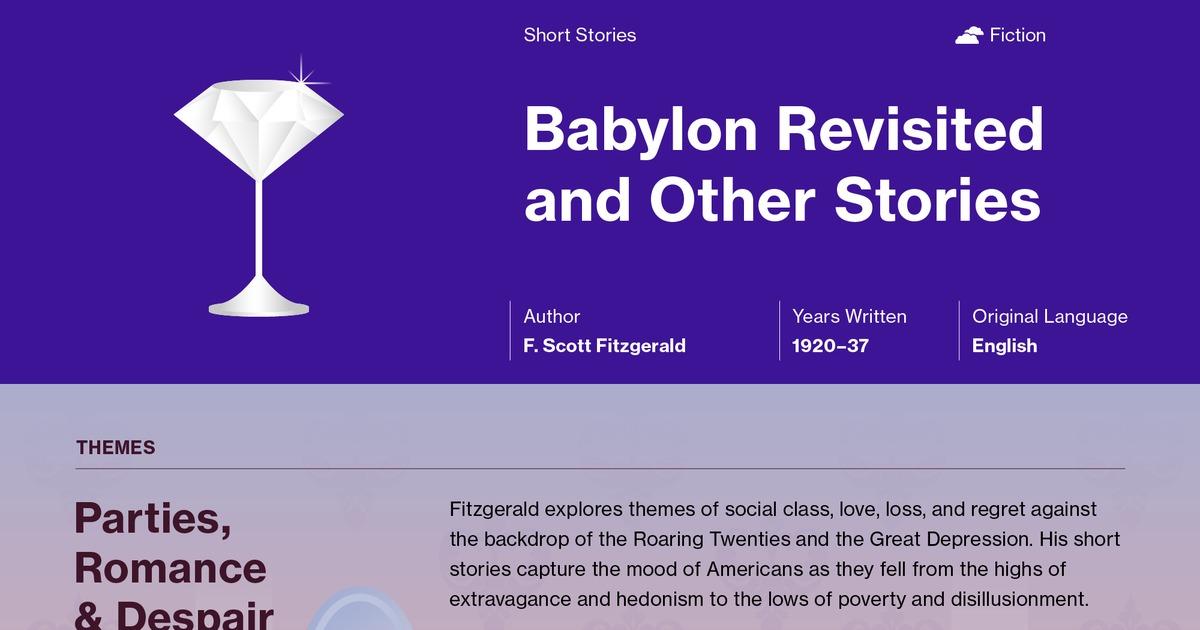babylon revisited analysis