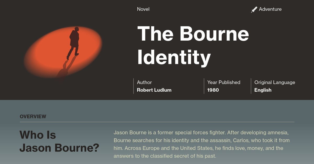 the bourne identity plot summary