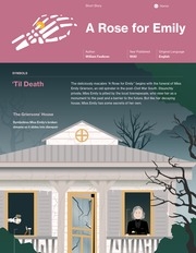 short story literary analysis essay a narrative dream faulkner s  a rose for emily thumbnail
