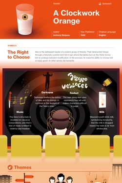 a clockwork orange study guide course hero overview a clockwork orange infographic thumbnail