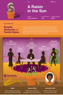 A Raisin in the Sun infographic thumbnail
