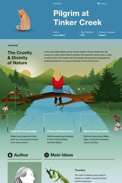Pilgrim at Tinker Creek infographic thumbnail