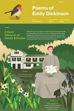 Poems of Emily Dickinson (Selected) infographic thumbnail