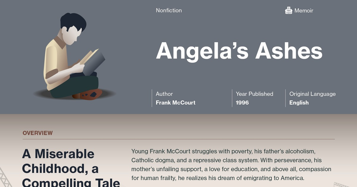 an analysis of the depth of characters in angelas ashes by frank mccourt