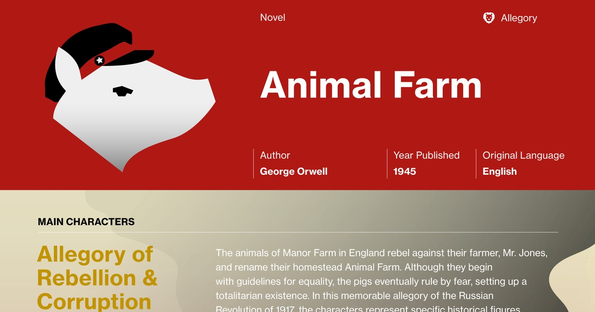macbeth and animal farm analysis essay