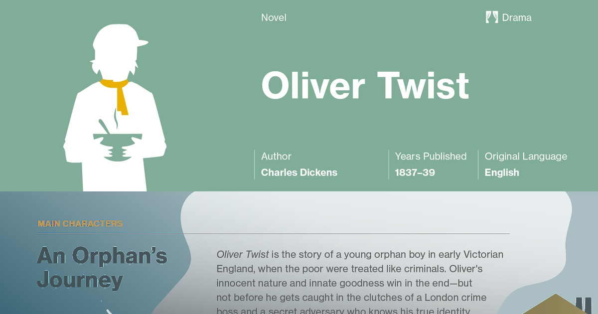 advantages of the oliver twist resource as a teaching design