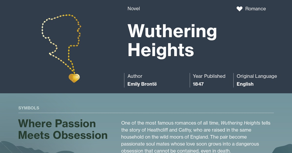 the story about love turned obsession in the novel wuthering heights