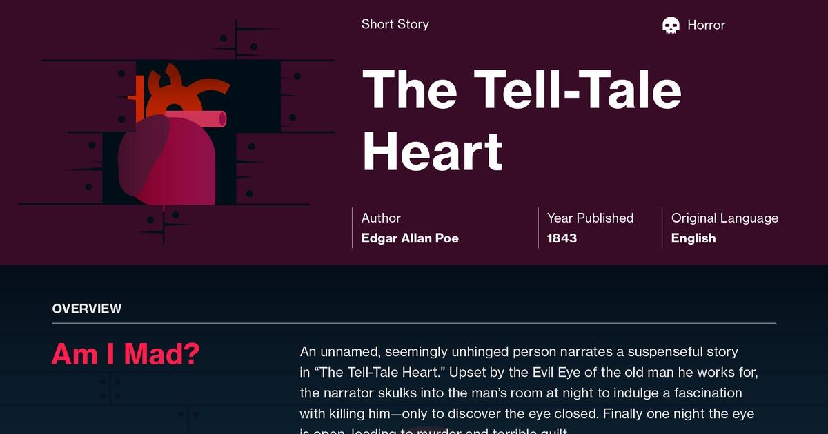 essay plot tell tale heart