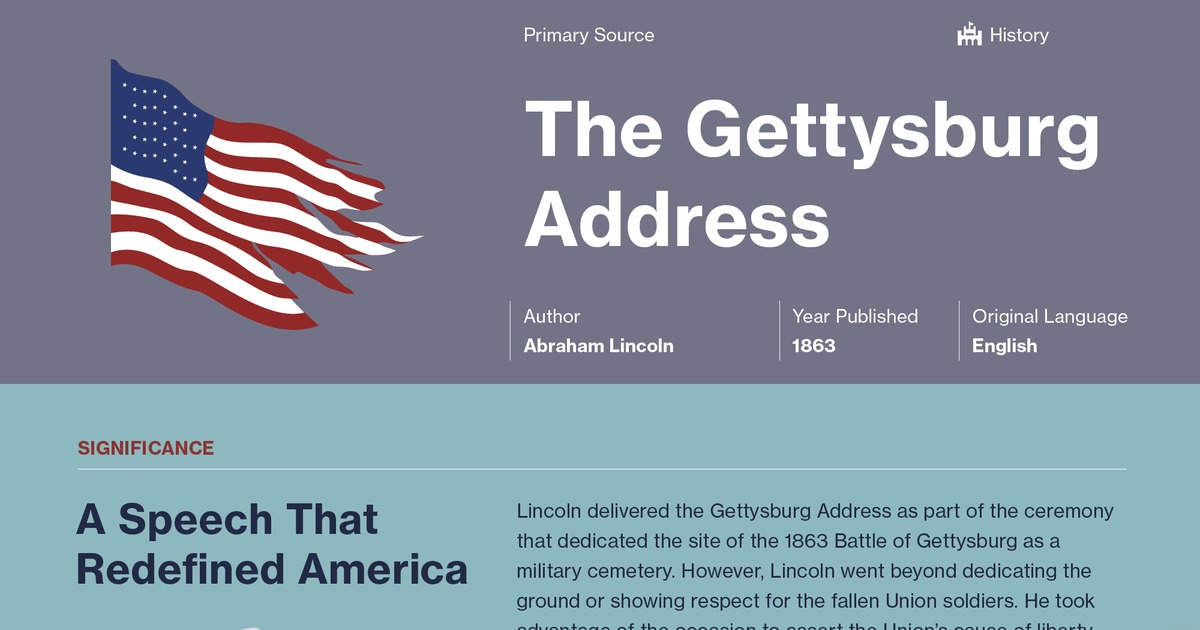 effect of antithesis in gettysburg address Gettysburg address rhetorical analysis the 16th president of the united states of america, abraham lincoln, in his speech, the gettysburg address, recounts the tragedy of the civil war and the fight for the removal of slavery lincoln's purpose is to state the importance of winning the war along with the.