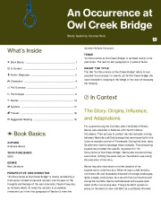 An Occurrence at Owl Creek Bridge Thumbnail