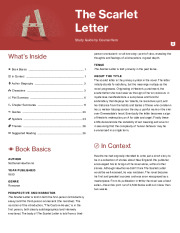 synthesis essay for scarlet letter The seventeenth century novel, the scarlet letter, by nathaniel hawthorne begins with hester prynne, a woman living in colonial.
