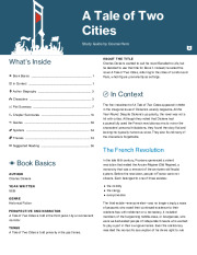 a tale of two cities thesis A tale of two cities sample analytical paper topics the following paper topics are based on the entire book following each topic is a thesis and sample outline.