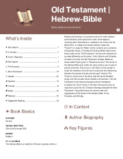 Old Testament | Hebrew-Bible Thumbnail