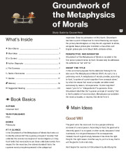 Groundwork of the Metaphysics of Morals Thumbnail