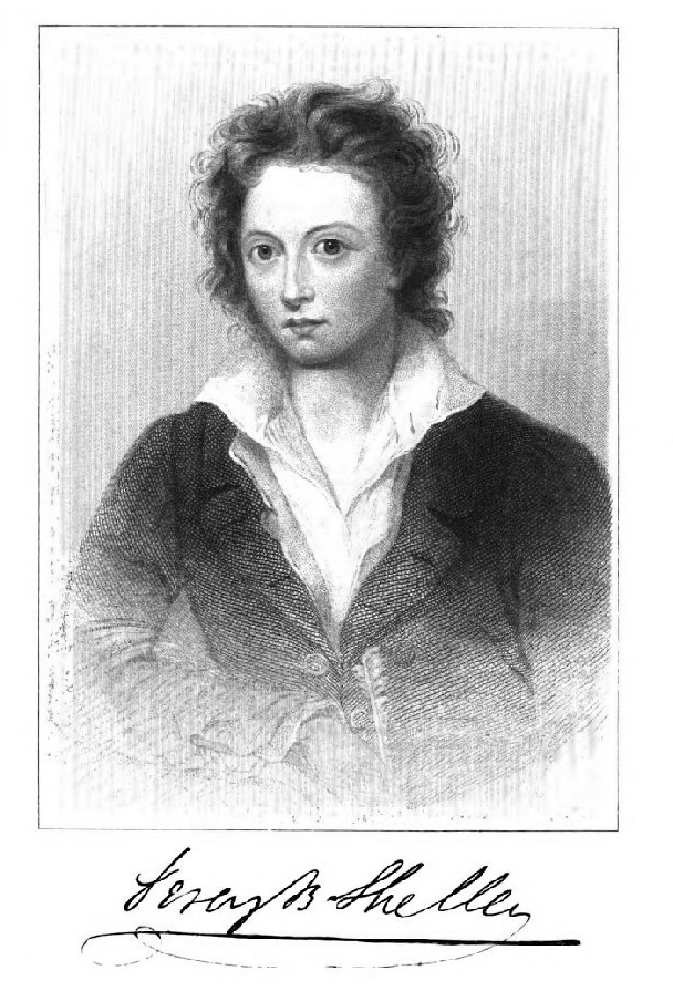 Percy Bysshe Shelley, 1792-1822.