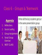 MGHB02 Class 6 Slides - Groups and Teamwork.pptx