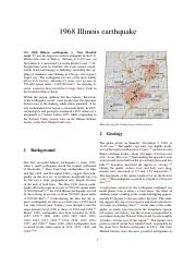 1968 Illinois earthquake
