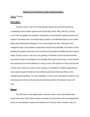 Weighted Credit Research Paper