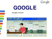 Google - Strategic Analysis ppt