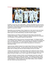 Premier League Hurts the Three Lions