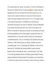 Essay on Big Fish Plot