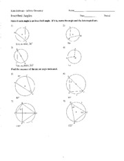 Kuta Software Infinite Geometry Arcs And Central Angles ...