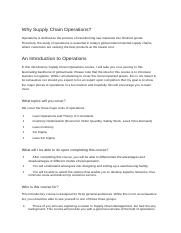 Supply chain Operations.docx