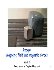 L8- Sources of magnetic fields