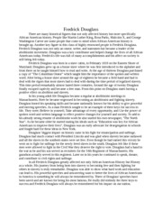 descriptive essay my first food festival bruce was sleepy  1 pages essay on fredrick douglass