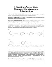 2211 - Electrophilic Aromatic Substitution