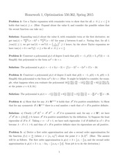 MATH 362 Spring 2015 Homework 1 Solutions