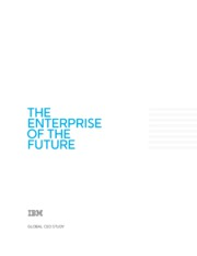 Global CEO Study The Enterprise of the Future