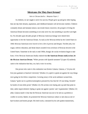 Chicano Youth & Identity [Term Paper 2]