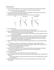 Review Questions AST #1