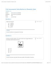 Unit Assessment: Introduction to Chemistry Quiz.pdf