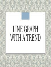 Line graph with a trend.pptx