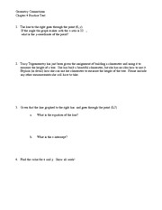 Chapter 4 Practice Test