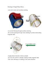 Working of Single Phase Motor