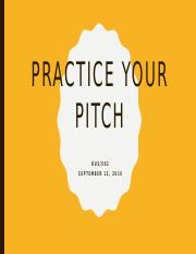 BUS502-Week06-Practice Your Pitch