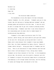 grizzly man important essay