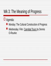 wk 4a Meaning of Progress 2-7-16 .ppt
